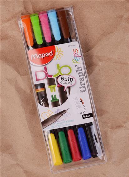 Ручки капиллярные 10цв