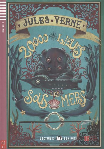 20000 lieues sous les mers.  Niveau 3 (+CD)