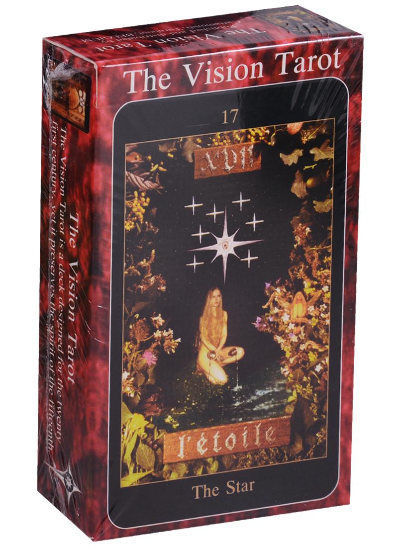 Galasso J. Vision Tarot / Видения Таро (карты + инструкция на английском языке) магические послания богинь 44 карты инструкция