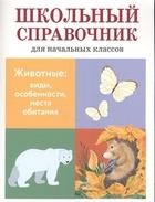 Животные: виды, особенности, места обитания