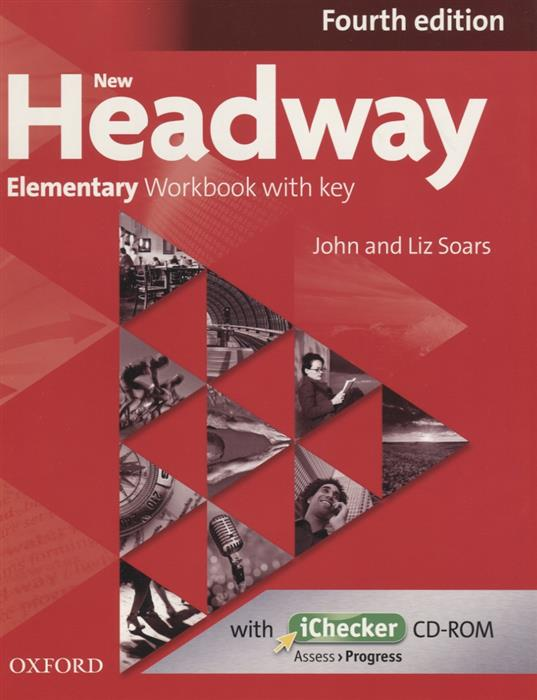 Soars J, Soars L. New Headway. Elementary Workbook with key. Fourth edition (+CD) laser a2 workbook with key cd