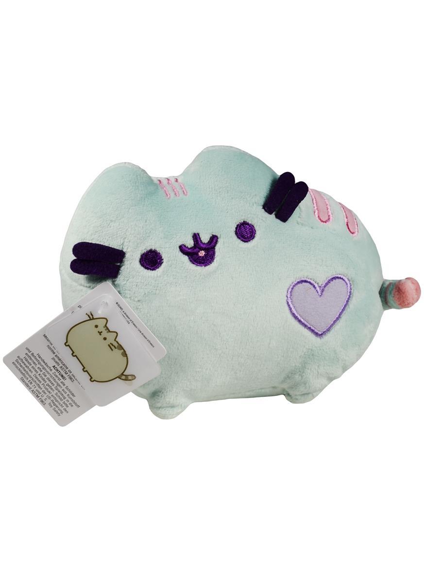 Котик Pusheen с сердечком салатовый