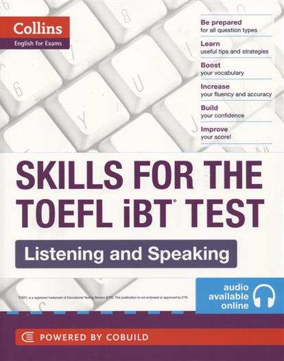 Skills for the TOEFL IBT Test. Listening and Speaking  malcolm mann steve taylore knowles skills for first certificate listening and speaking