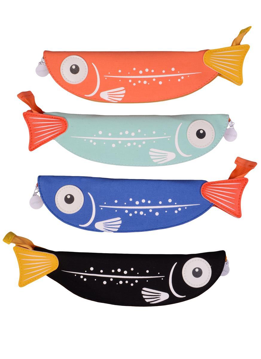 Пенал на молнии Рыба