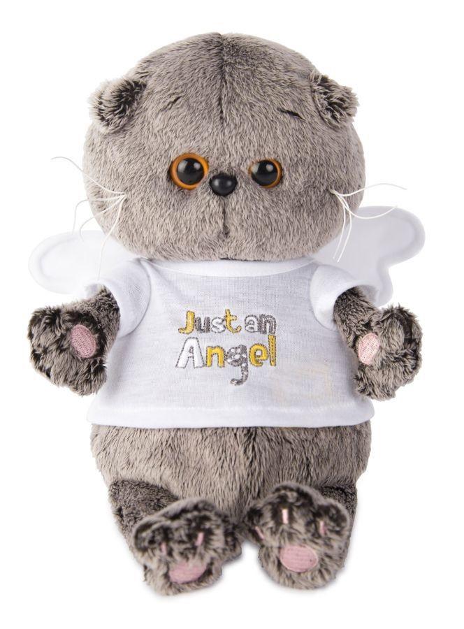 Мягкая игрушка Басик BABY в футболочке Just an Angel (20 см) (BB-007)