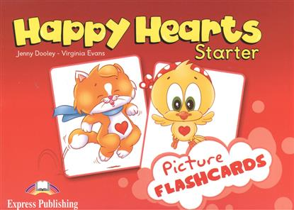 Evans V., Dooley J. Happy Hearts Starter. Picture Flashcards evans v welcome aboard 3 picture flashcards beginner раздаточный материал page 5