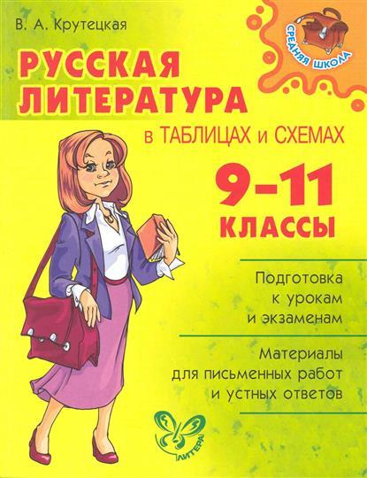 Русская литература в таблицах и схемах 9-11 классы