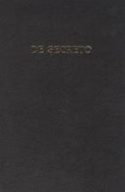 De Secreto / О Секрете. Сборник научных трудов