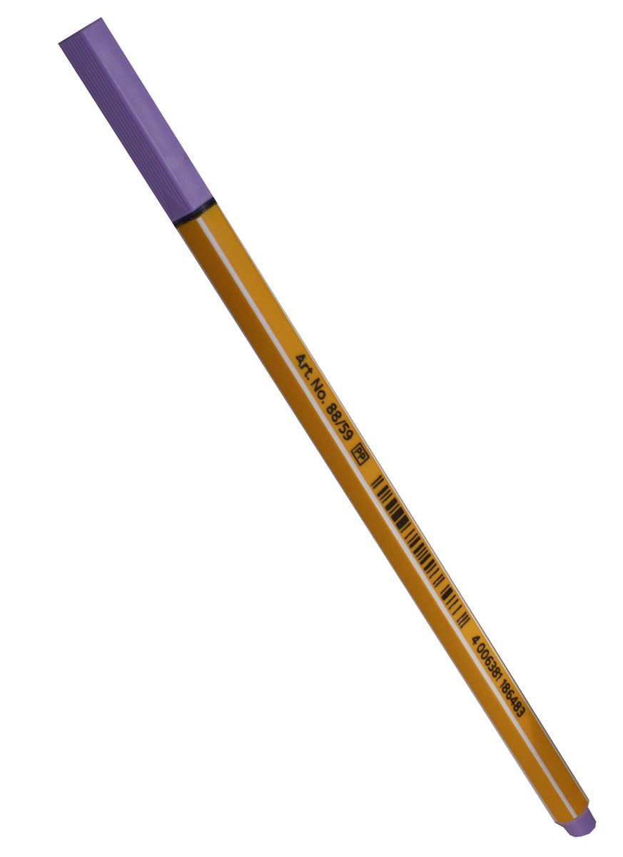 Ручка капиллярная светло-сиреневая