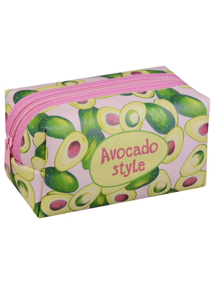 Косметичка на молнии Avocado style