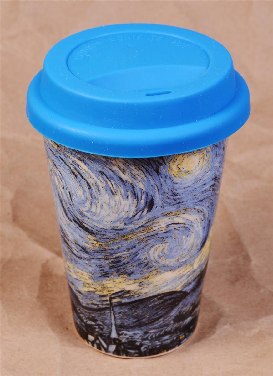 Стакан керамический Ван Гог Звездная ночь
