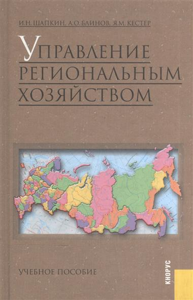 Шапкин И.: Управление региональным хозяйством