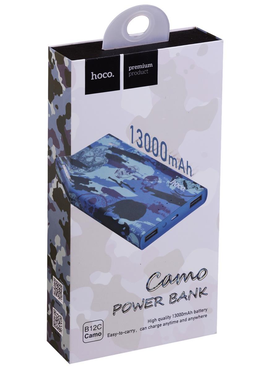 Внешний аккумулятор Hoco Камуфляж море (В12С) (13000 mAh)
