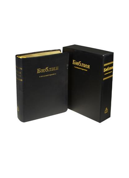 Библия. Книги Священного Писания Ветхого и Нового Завета в Синодальном переводе с комментариями и приложениями