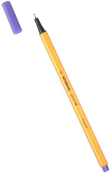 Ручка капиллярная фиолетовая