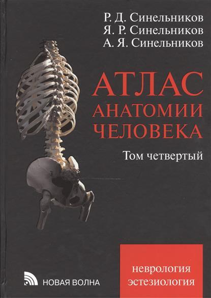 Атлас анатомии человека: учебное пособие. В четырех томах. Том четвертый: Учение о нервной системе и органах чувств. Издание седьмое, переработанное