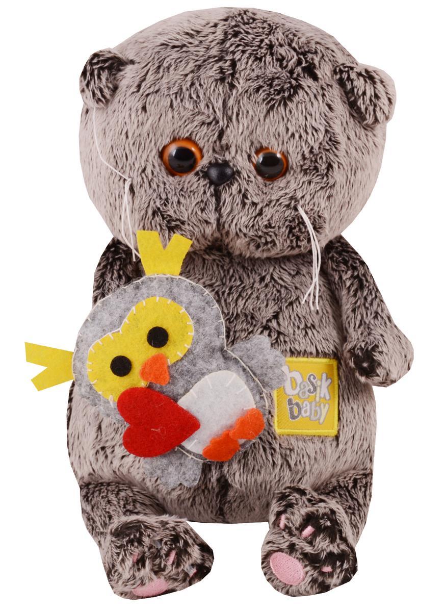 Мягкая игрушка Басик BABY с совенком (20 см)