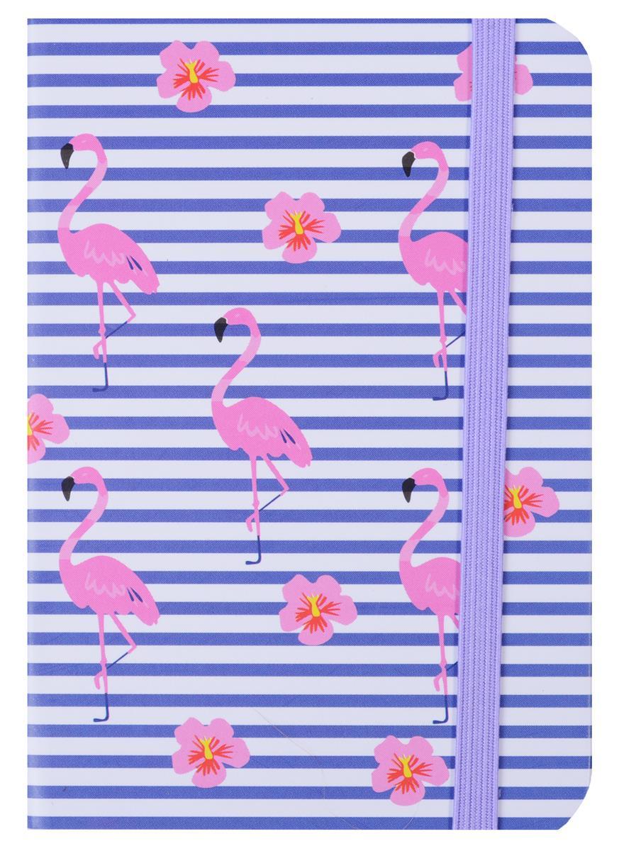 """Записная книжка А7 """"Flamingo"""",  80 л, клетка"""