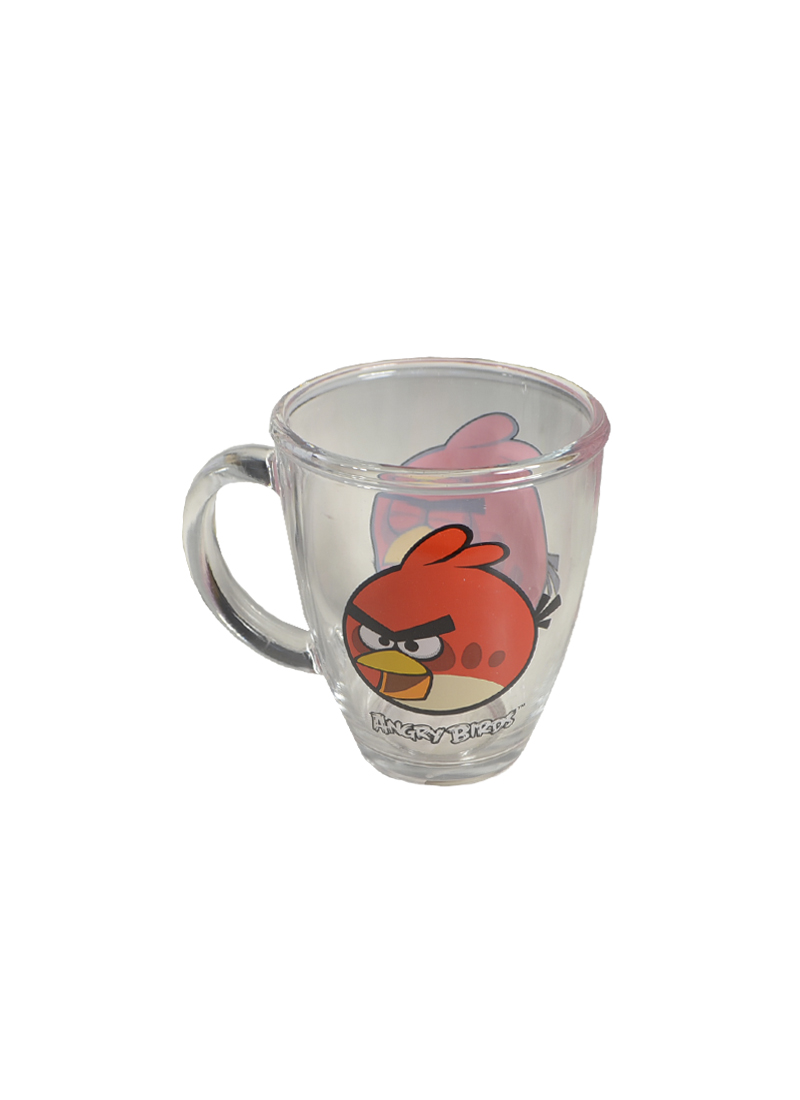 Angry Birds стеклянная кружка в коробке (красная) (300мл) (СР Дистрибуция)