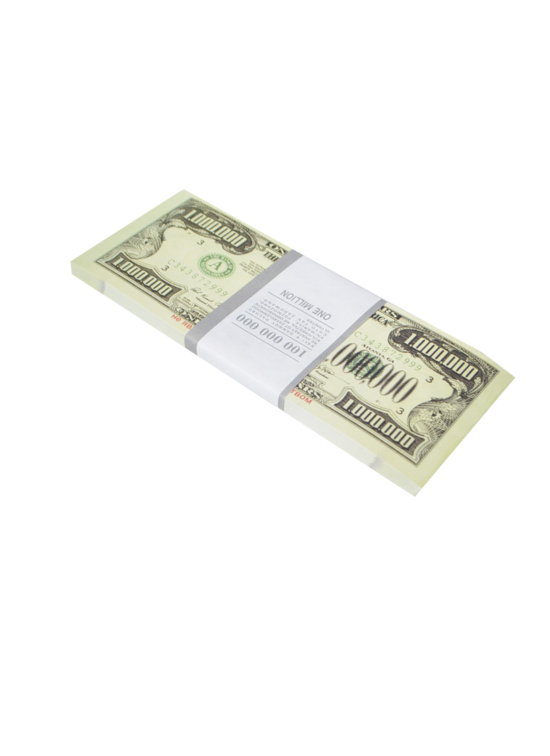 Блокнот пачка 1 000 000 $ (Мастер)