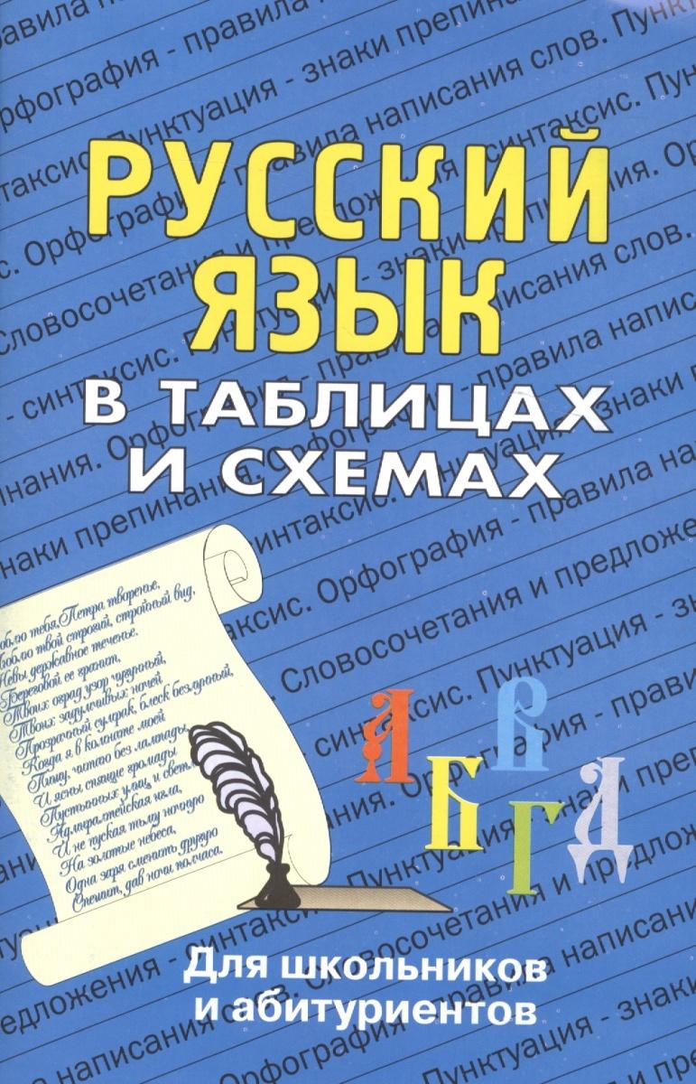 Лушникова Н. (сост.) Русский язык в таблицах и схемах Для школ. и абит.