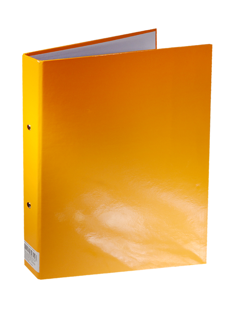 "Папка на кольцах А4 ""Неон"", оранжевая"
