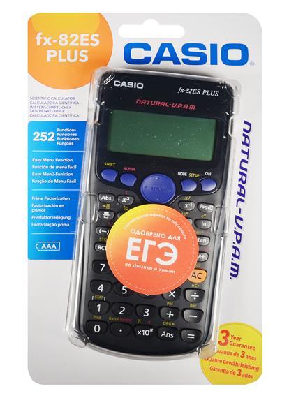 Калькулятор 12 разрядный научный 252 функции, CASIO