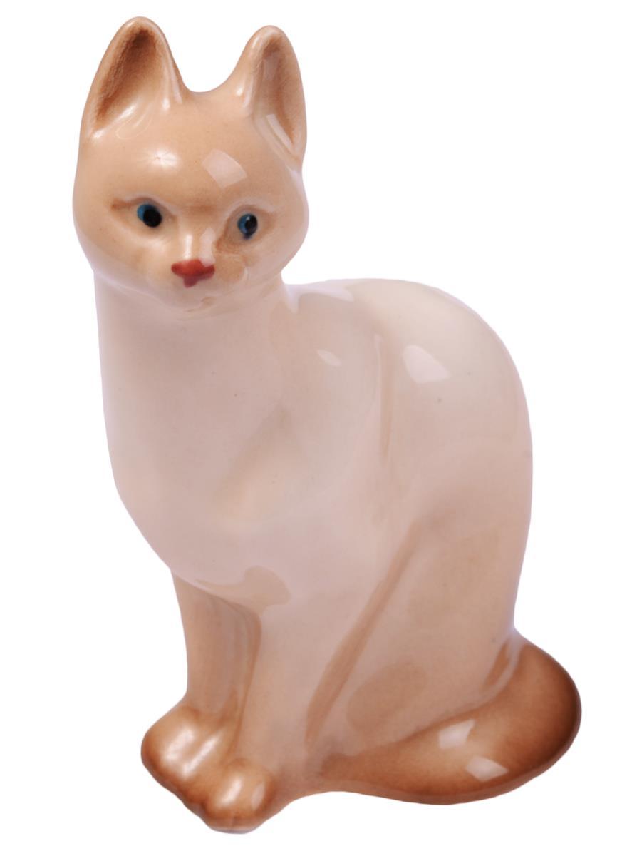 Статуэтка фарфор Сиамский кот (5х7)