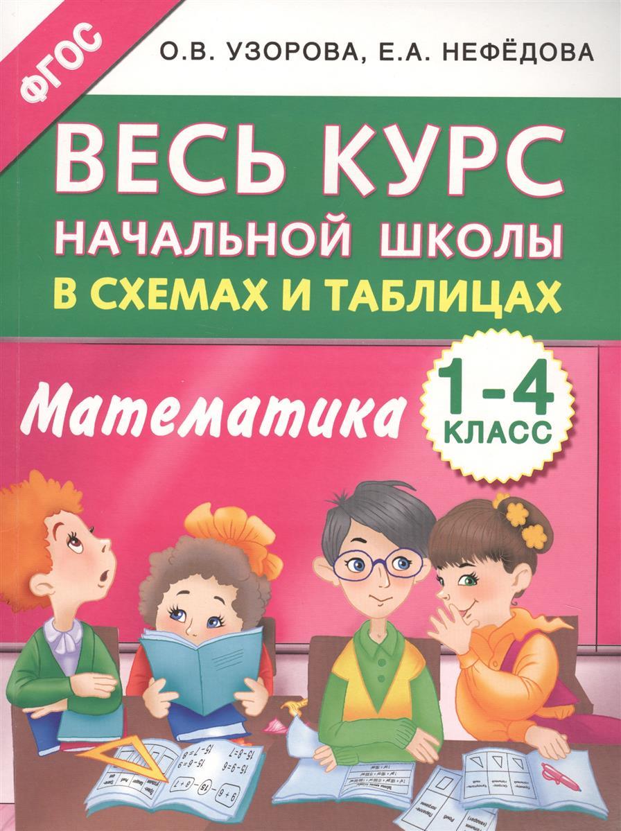 Узорова О., Нефедова Е. Математика. 1-4 классы. Весь курс начальной школы в схемах и таблицах цены онлайн