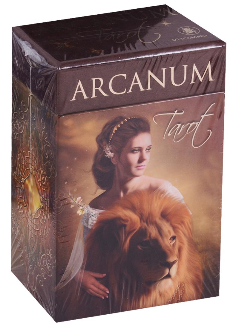 Lechner R. Arcanum Tarot / Таро Арканум (карты + инструкция на английском языке) haggard h r swallow ласточка на английском языке isbn 978 5 521 07737 3