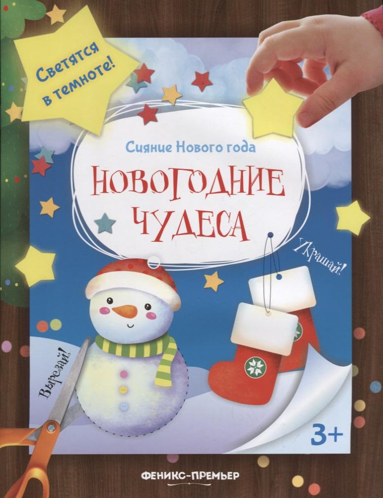 Новогодние чудеса Книжка-мастерилка