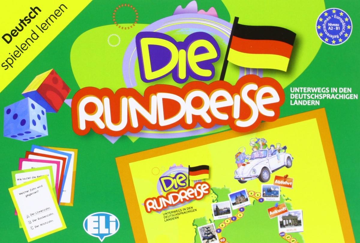 Games: [A2-B1]: Die Rundreise games super bis spanish a2 b1