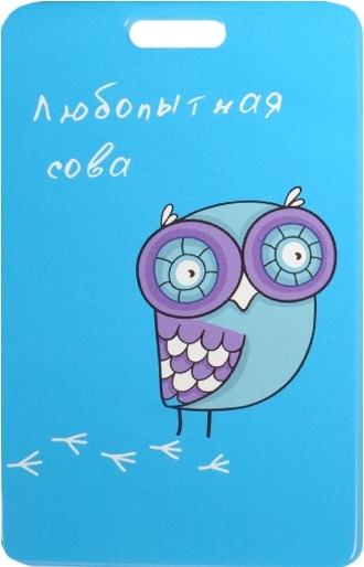 """Чехол для карточек """"Любопытная сова"""""""