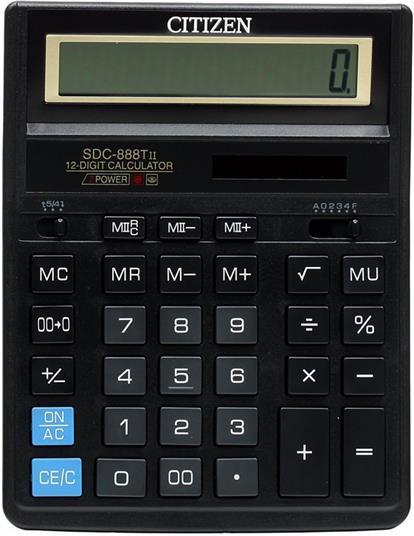 Калькулятор настольный CITIZEN SDC-888 TII