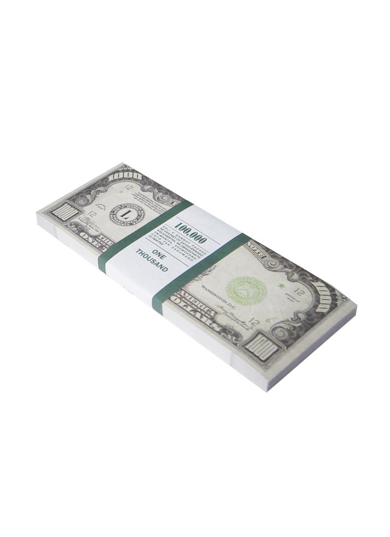 Блокнот пачка 1000 $ (Мастер)