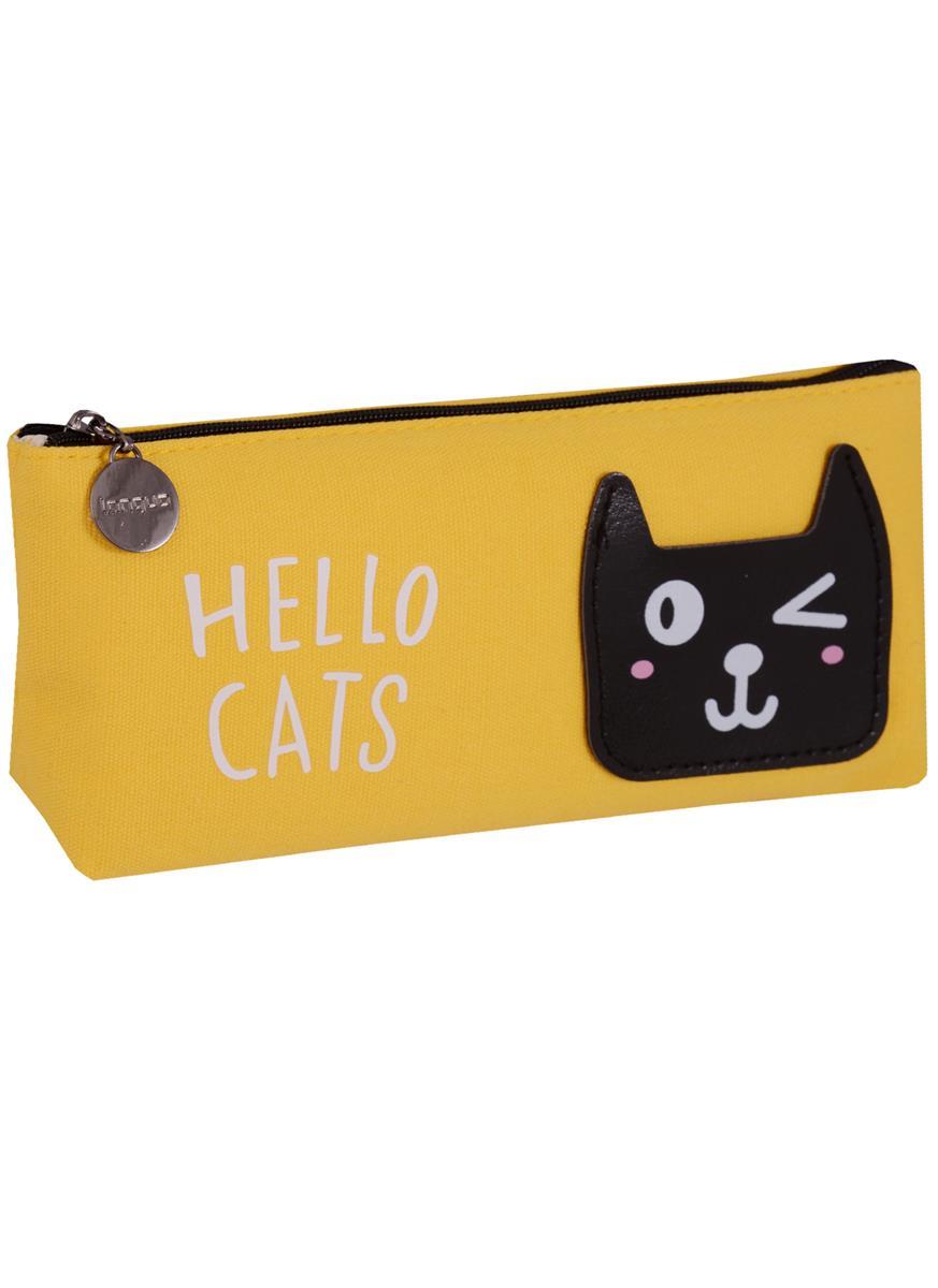 Пенал на молнии Кошки Hello Cat's
