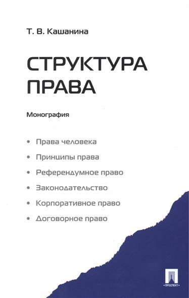 Структура права. Монография