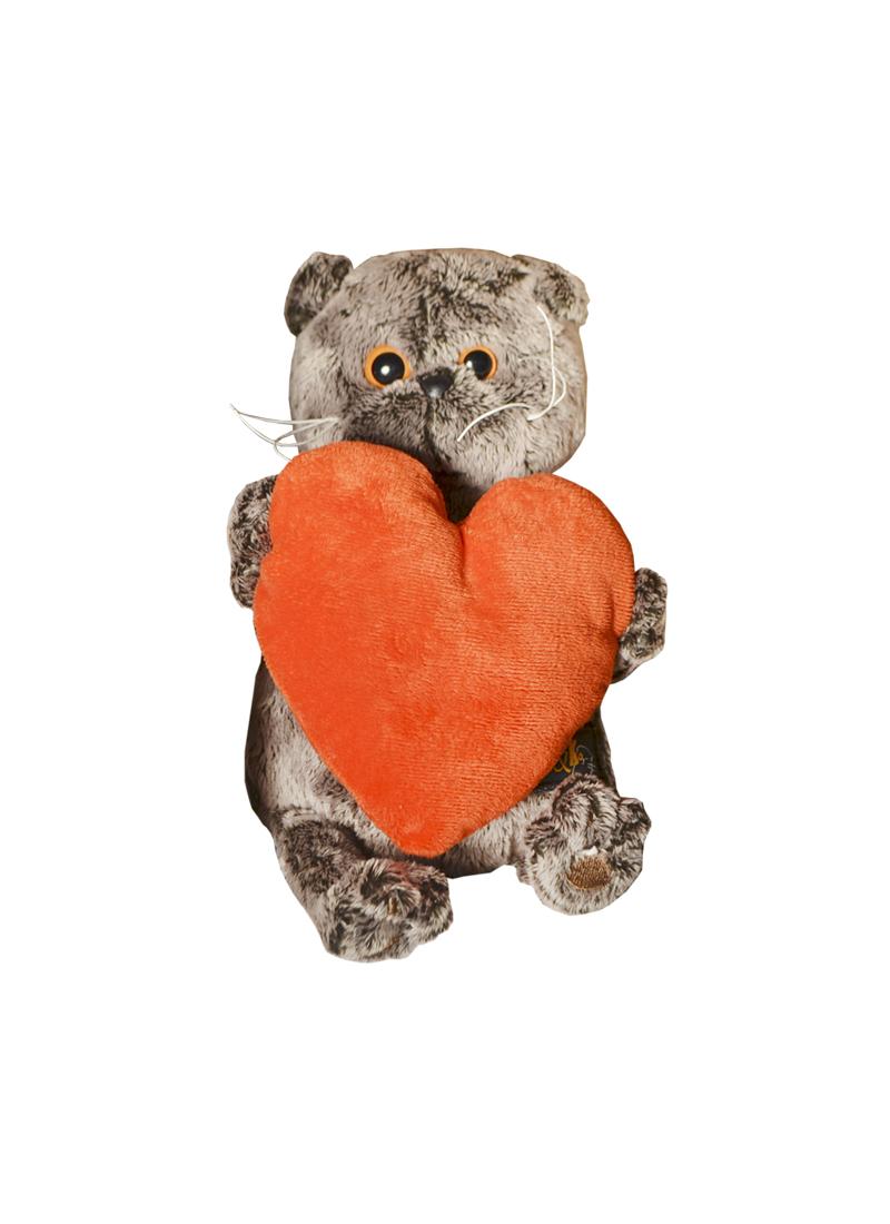 Мягкая игрушка Басик с сердечком (19см) (Ks19-012) (Буди Баса)