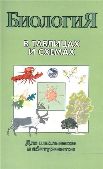 Биология в таблицах и схемах Для школ. и абит.