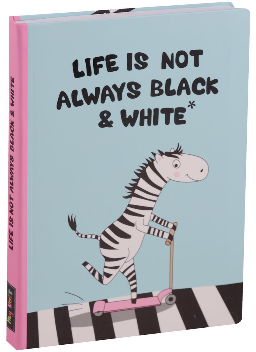 Блокнот Life is not (Зебра)