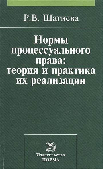 Шагиева Р. Нормы процессуального права: теория и практика их реализации