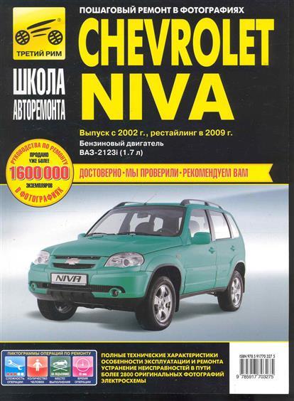 Chevrolet Niva с 2002 Рестайл. в 2005 в фото