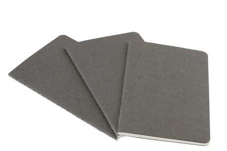 """Книга для записей А5 40л нелин. """"Cahier Journal Large"""" (3шт.) серая, обложка картон, Moleskine"""