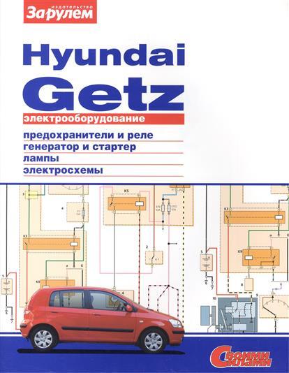 Электрооборудование автомобиля Hyundai Getz: предохранители и реле. генератор и стартер. лампы. электросхемы