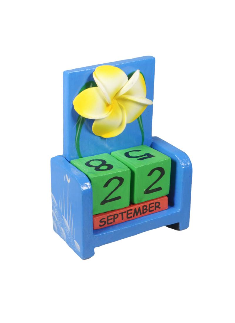 Календарь вечный дерево Цветок (7,1х3,8х10,6) (870679)