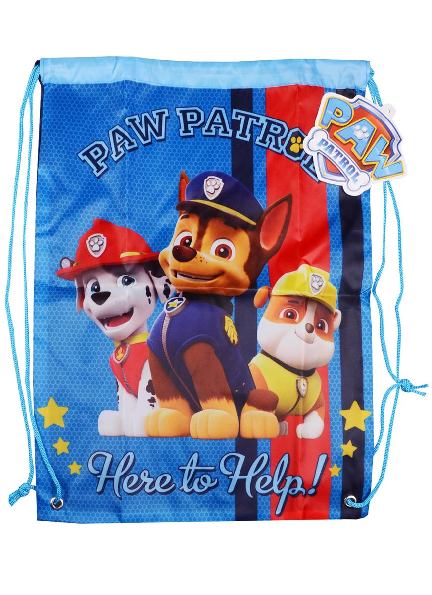 """Мешок для сменной обуви """"Paw Patrol"""""""