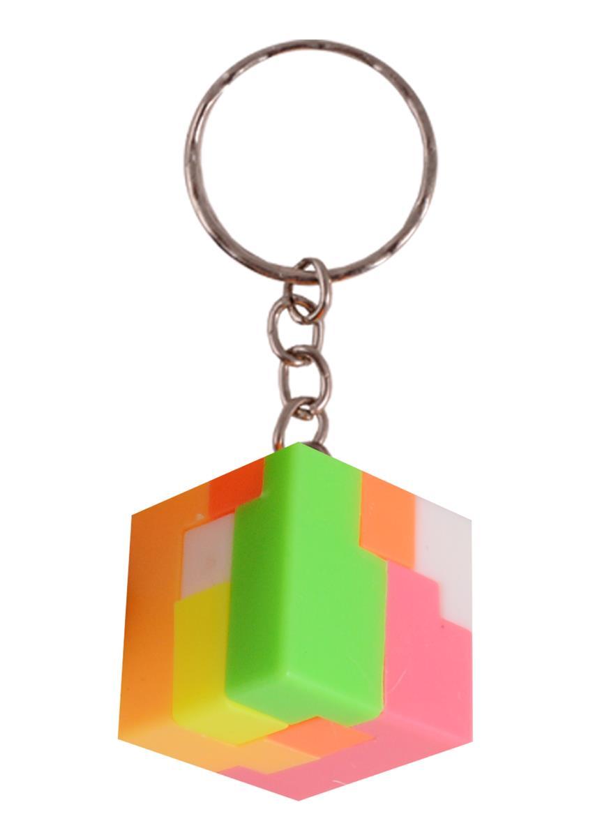 Брелок головоломка Кубик (пластик)