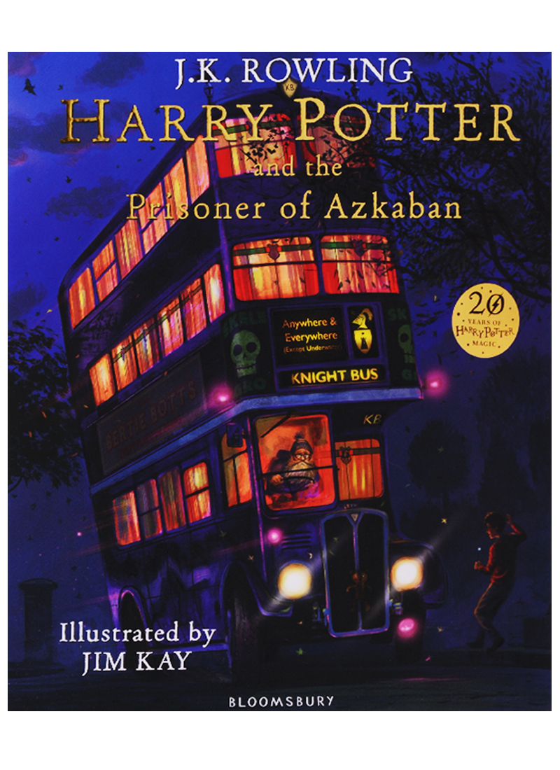 Rowling J. Harry Potter and the Prisoner of Azkaban: Illustrated Edition