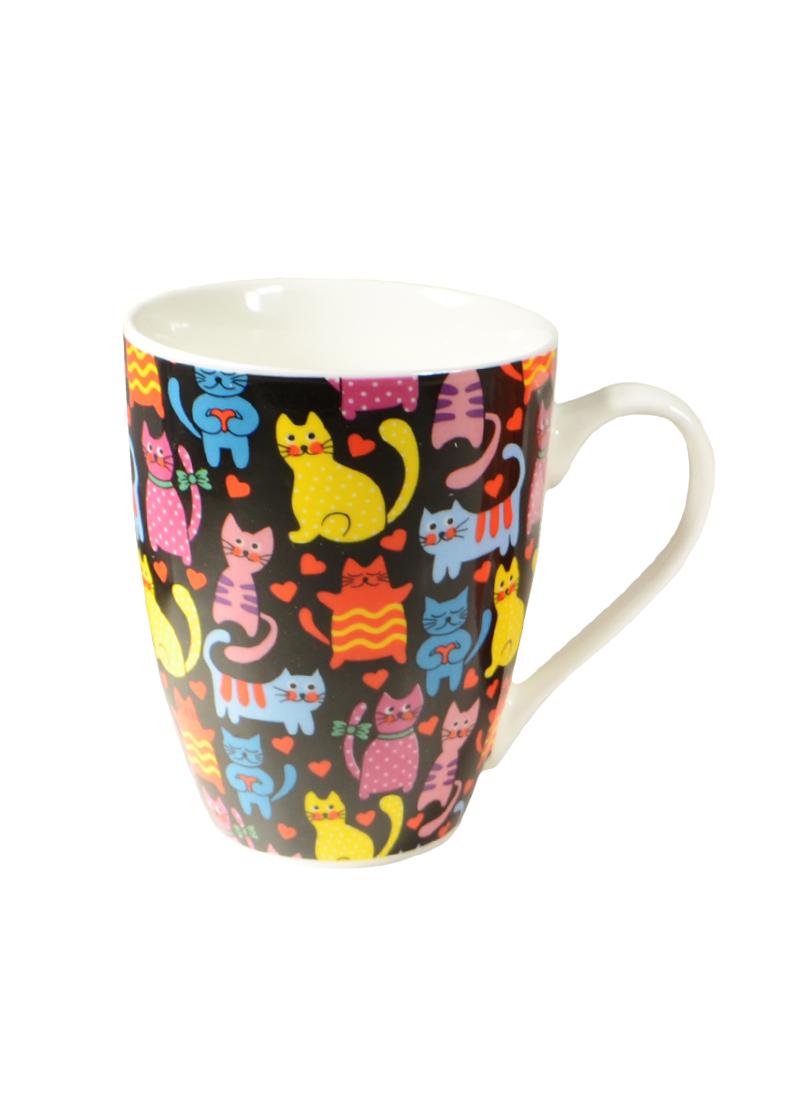 Кружка Разноцветные кошки в подарочной упаковке (153-642) (350мл) (Авангард)