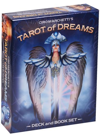 Ciro Marchetti Tarot of Dreams/ Таро Снов. Набор 83 карты с книгой на английском языке ciro marchetti tarot of dreams таро снов набор 83 карты с книгой на английском языке